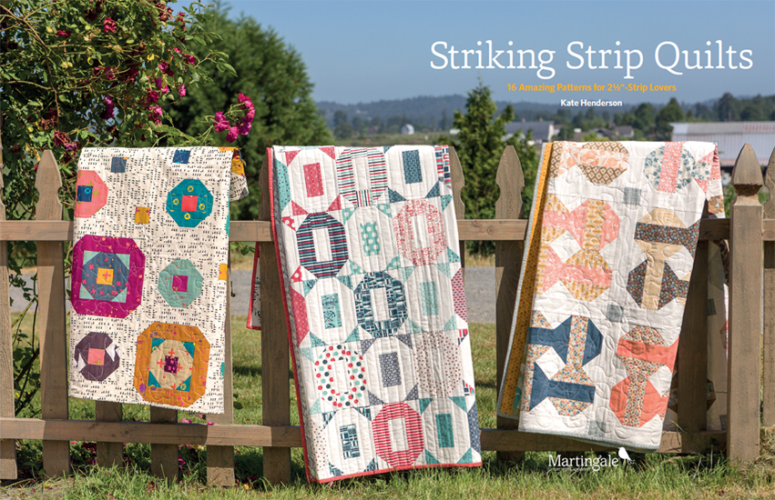 How to make a strip quilt: 16 striking ways (+ fabric giveaway ... : strip quilts - Adamdwight.com