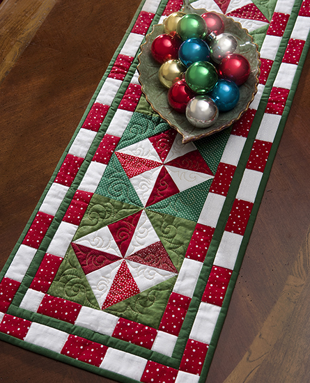 Free Printable Christmas Table Runner Quilt Patterns : Martingale - The Big Book of Table Toppers (Print version + eBook bundle)