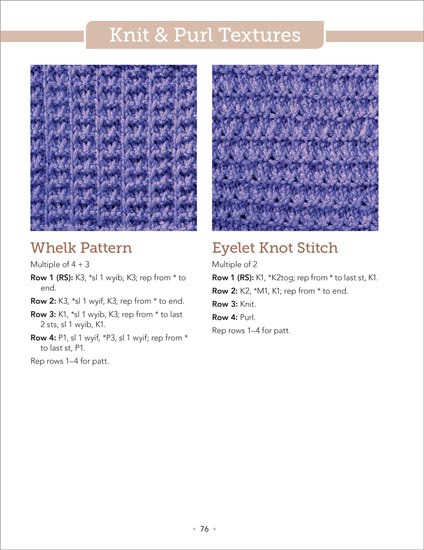 Knitting Stitch Reference : Martingale - The Big Book of Knit Stitches (Print version + eBook bundle)