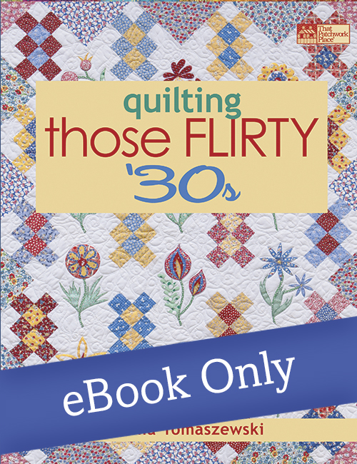 Martingale - Quilting Those Flirty 30s eBook : quilting font - Adamdwight.com