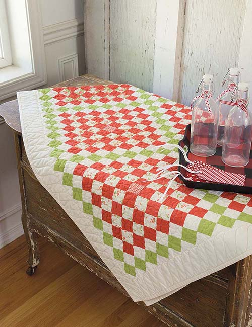 Quilts and More That Span the Seasons Countdown to Christmas
