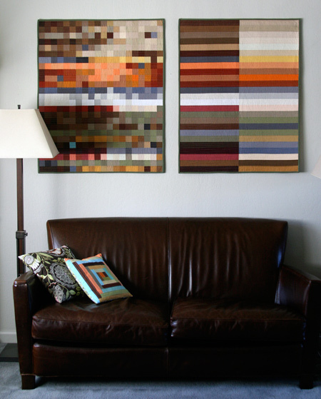 How do you hang a quilt on the wall? - Stitch This! The Martingale ... : rod to hang quilt on wall - Adamdwight.com