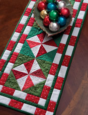 Peppermint Candy Table Runner
