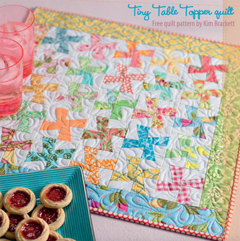 Tiny Table Topper quilt