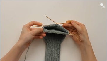 How to knit a sock, step 1