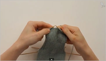 How to knit a sock, step 2