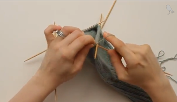 How to knit a sock, step 3