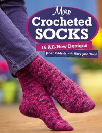 Martingale - More Crocheted Socks (Print version + eBook bundle)