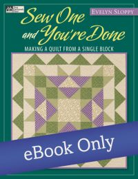 Martingale - Sew One and You're Done eBook