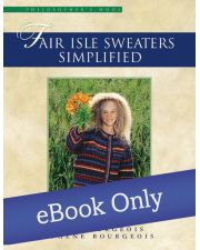Martingale - Fair Isle Sweaters Simplified eBook