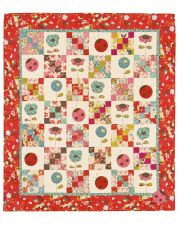 Martingale - Ladybugs! Quilt ePattern