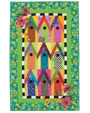 Birdhouses of Key West Quilt ePattern