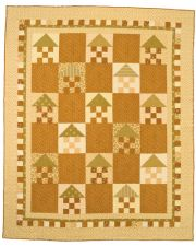 Martingale - Checkerboard Neighborhood Quilt ePattern