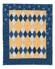 12-Karat Four Patch Quilt ePattern