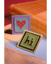 Martingale - Hi and Heart Greeting Cards ePattern