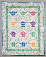 Nine-Patch Baskets Quilt ePattern