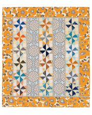 Martingale - Windmill Row Wall Quilt ePattern