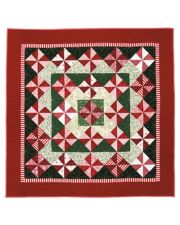 Martingale - Peppermint Patties Lap Quilt ePattern