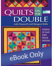 Martingale - Quilts on the Double eBook