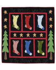 The Stockings Were Hung Quilt ePattern
