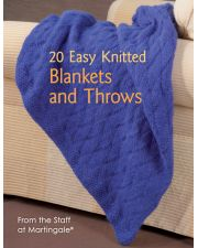 Martingale - 20 Easy Knitted Blankets and Throws
