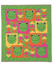 Martingale - Flying Frogs Quilt ePattern