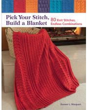 Martingale - Pick Your Stitch, Build a Blanket (Print version + eBook bundle)