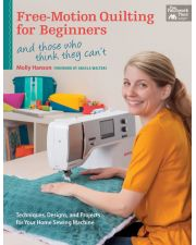 Martingale - Free-Motion Quilting for Beginners  (Print version + eBook bundle)