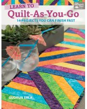 Martingale - Learn to Quilt-As-You-Go (Print version + eBook bundle)