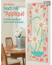 Martingale - Pat Sloan's Teach Me to Appliqué (Print version + eBook bundle)