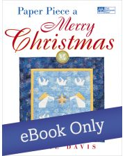 Martingale - Paper Piece a Merry Christmas eBook