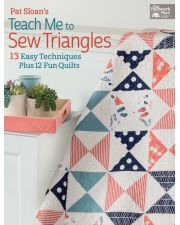 Martingale - Pat Sloan's Teach Me to Sew Triangles