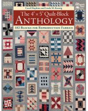 "Martingale - The 4"" x 5"" Quilt-Block Anthology (Print version + eBook bundle)"