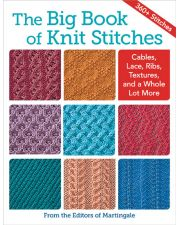 Martingale - The Big Book of Knit Stitches (Print version + eBook bundle)
