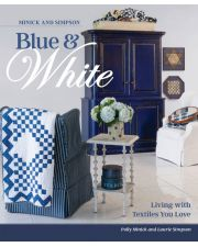 Martingale - Minick and Simpson Blue and White