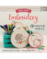 Martingale - Lunch-Hour Embroidery (Print version + eBook bundle)