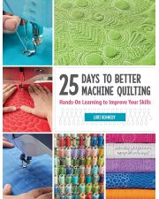 Martingale - 25 Days to Better Machine Quilting (Print version + eBook bundle)