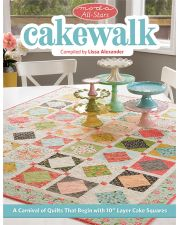 Martingale - Moda All-Stars - Cakewalk (Print version + eBook bundle)