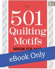 Martingale - 501 Quilting Motifs eBook