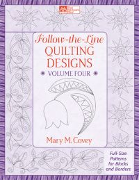 Follow-the-Line Quilting Designs Volume 4
