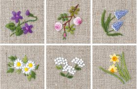 Martingale - Floral Motifs to Embroider