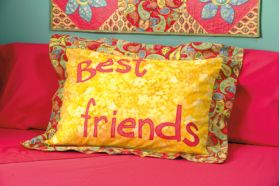 Martingale - Best Friends Pillow Sham ePattern