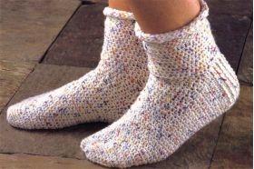 Martingale - Crocheted Socks! eBook