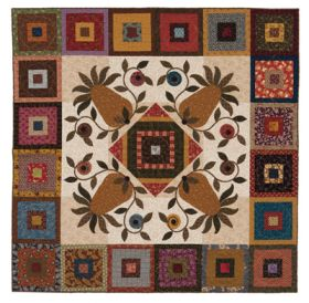 Martingale - Old-Fashioned Hospitality Quilt ePattern