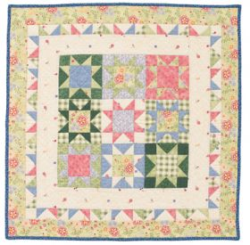 Martingale - Stars Baby Quilt ePattern