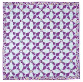 Martingale - Purple Passion Pineapple Quilt ePattern