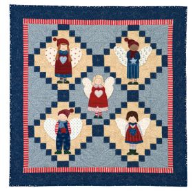 Martingale - Angel Christmas Pageant Wall Quilt ePattern