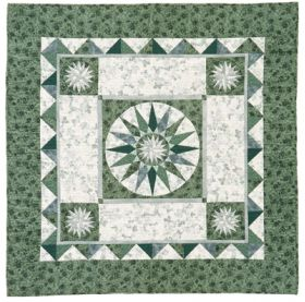 Martingale - Mariner's Compass Medallion Quilt ePattern