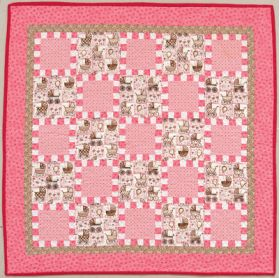 Martingale - Small Checks Quilt ePattern