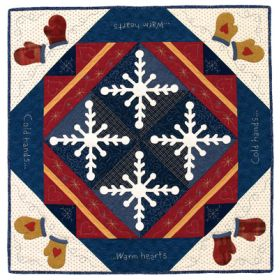 Martingale - Warm Hearts Table Topper ePattern